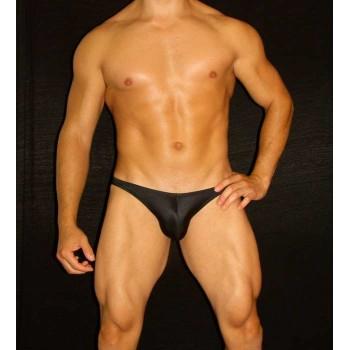 slip Bikini hombre color Negro