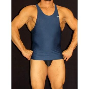 Musculosa lycra azul marino