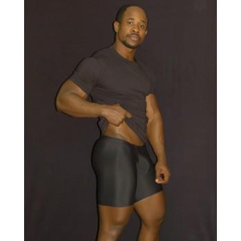 calza corta deportiva compresion hombre