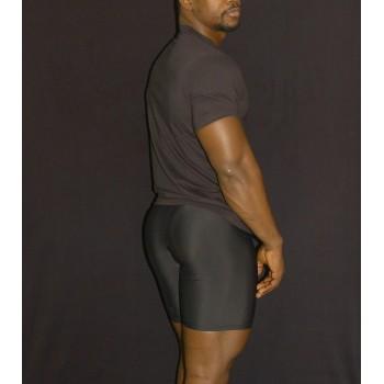 calza corta deportiva hombre compresion