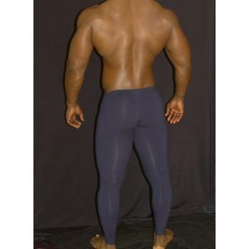 calza larga hombre spandex azul marino