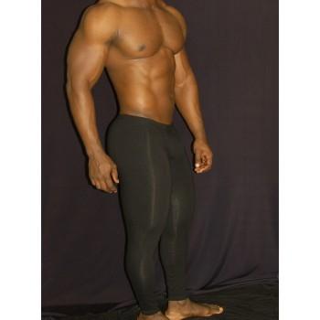 calza larga hombre spandex negro