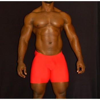calza corta futbol para hombre color rojo
