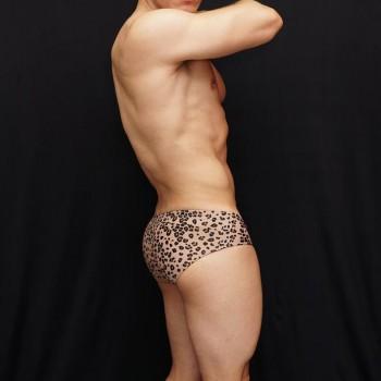 boxer hombre leopardo