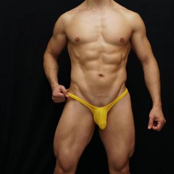 sutien bulge malla amarilla hecho en chile