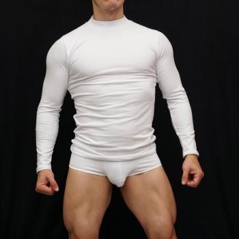 camiseta primera capa manga larga hombre elasticada