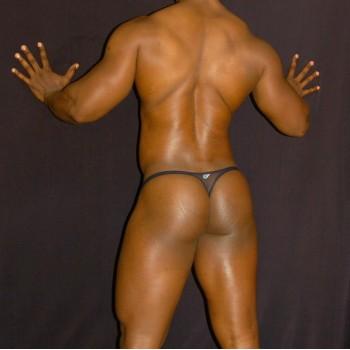 sutien para hombre nylon transparente negro