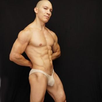 sunga competencia culturismo al desnudo