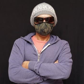 mascarilla facial reutilizable y lavable, hecha por Arroyman en Chile