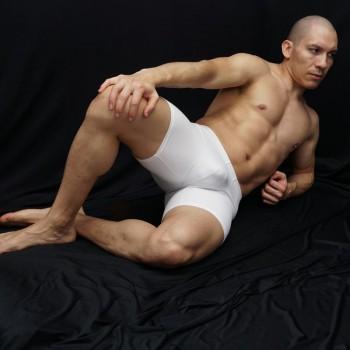 calza corta deportiva para futbol color blanco