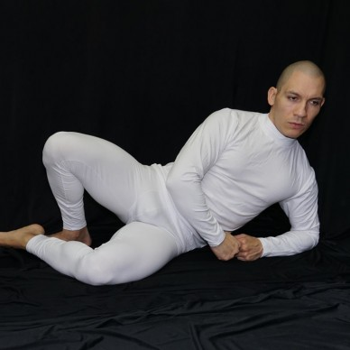 camiseta primera capa manga larga hombre elasticada algodon con elastano